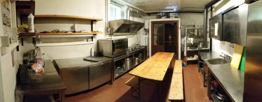 Piazzole Casa Scout Cucina